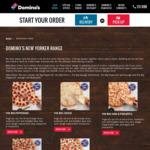 40% off New York Range Pizzas @ Domino's