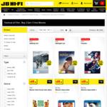 JB Hi-Fi Buy 2 Get 1 Free Movies (Select Titles)