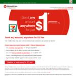 Send Money Overseas for $1 with MoneyGram (7-Eleven)