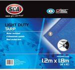 $1 Light Duty Poly Tarp (1.2x 1.8m), $3 (1.8x 2.4m) | 2-in-1 Screwdriver $1 @ SuperCheap Auto (Club Plus Members)