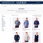 Up to 60% off RRP on 250 Styles: Men's Gazman Clothing Starting from $14.96 (Free Shipping with $100 Order)