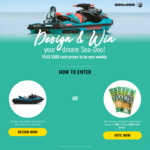 Win a Sea-Doo Spark Worth $7,599 or 1 of 3 $500 Cash Prizes from Southern Cross Austereo [NSW/QLD/SA/VIC/WA]
