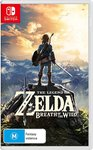 The Legend of Zelda: Breath of The Wild $63, Shadow of The Tomb Raider $43, PreOrder Battlefield V PC/XB/PS4 $54 @ Amazon AU