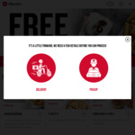 Triple Dippers Meal (2x Large Pizzas, Triple Dippers & 1.25L Drink) $37.95 Delivered @ Pizza Hut