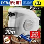 Plantcraft 30M Retractable Garden Water Hose Reel $109.44 Delivered @ Mytopia eBay