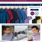 Black Friday Deal: 20% off Sitewide, Shirts from $31.20 + Delivery @ Charles Tyrwhitt
