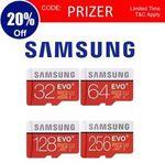 Samsung EVO Plus MicroSD Card 128GB $29.95 Delivered @ Apus Auction eBay (AU Stock)