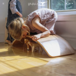 20% off Storewide | Kinderfeets KinderBoard in Whitewash & Natural Now $118.30 @ Ollie Makes Five