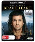 Braveheart 4K $19.98 and Various 4k $19.98 @ JB Hi-Fi