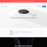$200 off Google Pixel 3 Not Pink (64GB $999, 128GB $1149) and 3 XL (64GB $1149, 128GB $1299) from Google Store