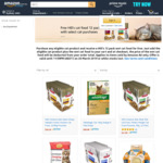 Free Hill's Cat Food 12 Pack with Select Cat Product Purchase (from $6.98) @ Amazon AU