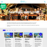25% off Stays at NRMA Holiday Parks & Resorts