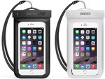 CHOETECH Waterproof Phone Pouch 2-Pack $6.99 + Delivery (Free with Prime/ $49 Spend) @ Choetech Amazon AU