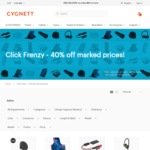 Up to 70% off Selected Cygnett Products ($30 Minimum Spend) + $10 Flat Rate Shipping (Free over $50 Spend) @ Cygnett
