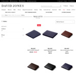 Bellroy Wallets: Note Sleeves (From $79), Slim Sleeves (From $69) + Delivery @ David Jones