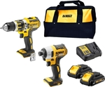 Dewalt Brushless Drill + Driver + 2x 3ah Batteries $259 @ Bunnings