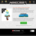 Minecraft Earth Skin Free with Minecraft Earth Beta Sign up