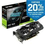 Asus Dual GeForce GTX 1660 Ti OC 6GB GDDR6 Gaming Graphics Video Card DP HDMI $383.20 Delivered @ Futu Online eBay