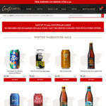 Discounted Craft Beer Slabs/Cases Starting from $39 @ Craft Cartel