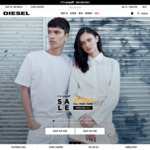 AfterYAY Sale - 20% off Sitewide + Free Delivery @ Diesel