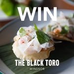 Win a $150 Voucher for Lunch or Dinner in Windsor from The Black Toro (VIC)