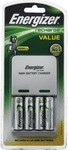 Energizer Recharge Value (Battery Charger + 4 Rechargeable AA Batteries) $5 + Delivery @ The Good Guys
