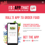 Purchase 2x Bao and Receive 50% off via App @ Roll'd  (Existing Users)
