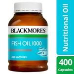 Blackmores Fish Oil 1000mg, 400 Capsules $13 @ Coles