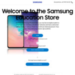 20% off Samsung Galaxy S10e/S10 (E.g: S10 $929 with Code) @ Samsung Education Store