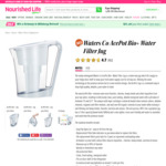Waters Co Acepot Water Filter Jug $167.20 (Was $209) + Delivery ($0 for Members) @ Nourished Life
