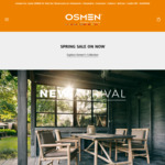 Half Price Off A Huge Range and 5% Off Online With Free Shipping @ Osmen Furniture