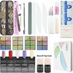 30% off + Free Delivery Gel Nail Polish 5 Colors & Top Base Coat Full Set Kits $55.97 @ Carlo Rista