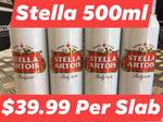[NSW] Stella Artois 24x 500ML Cans $39.99 @ Premix King, Punchbowl (Instore Only)