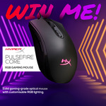 Win a HyperX Pulsefire Core RGB Gaming Mouse Worth $69 from Centre Com