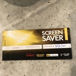 10 Cinema Tickets - Adult Off Peak Screensavers for $95 @ Event Cinemas Only (in Store)