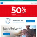 $50 off Bupa Optical (No Minimum Spend) for Bupa Private Insurance Members @ Bupa