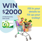 Win $2,000 Worth of Woolworths Gift Cards from Stuck on You