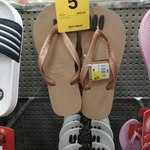 Men's and Women's Havaianas (Save $14) $5 @ BIG W