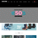 50% off Full Priced Items and 20% off Sale Stock (Free Shipping $99+) @ Pacific Prizm Boardstore