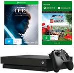 Xbox One X 1TB Console + Fallen Order + Forza Horizon 4 & LEGO Speed + 1 Month Game Pass Bundle $449 + $7.90 Delivery @ Big W