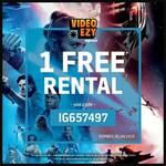 1 Free Rental @ Video Ezy
