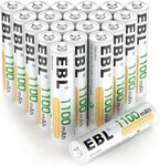 EBL AAA 1100 Mah Rechargeable Battery 16 Pack $26 + Post ($0 with Prime or $39 Spend) @ EBL Amazon AU