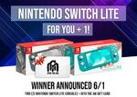 Win 2 Nintendo Switch Lite and $100 Gift Card from INTO THE AM