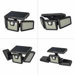 BlitzWolf BW-OLT4 Adjustable 128 LED Motion Sensor Solar Power Light US$19.59 (~A$28.63) Delivered @ Banggood