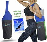 30% off Yoga Mat Bag Tote Sling with 2 Large Pockets & 1 Zipper Pocket $17.50 + Post ($0 with Prime/$39+) @ JoYnWell AmazonAU
