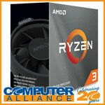 AMD Ryzen 3 3100 $148.75 Delivered (Paying with Afterpay) @ Computer Alliance eBay
