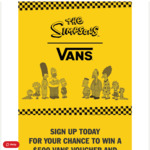 WIN $500 Worth of Vans X Simpsons + Early Access When The Collab Launches