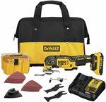 DEWALT DCS356D1 20V XR Oscillating Multi-Tool Kit $315.76 + Delivery (Free with Prime) @ Amazon US via AU