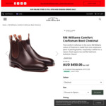 RM Williams Comfort Craftsman $450 + Delivery @ Everything Australian
