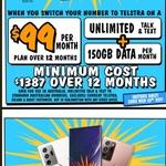 Samsung S20 Plus 128GB $199/Note 20 Ultra 5G 256GB $899 Upfront on Telstra $99 150GB P/M 12-Month Plan (New / Port-in) @JB Hi-Fi